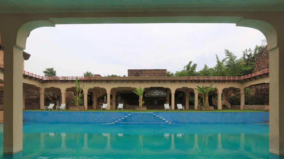 Tijara Fort Palace - Alwar Alwar Exterior Facilities Hotel Tijara Fort Palace Alwar Rajasthan 1