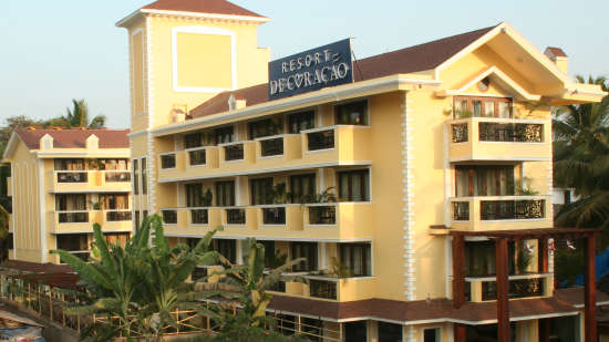 Exterior Resort De Coracao Goa 2