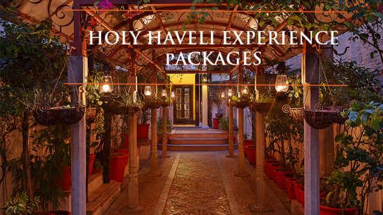The Haveli Hari Ganga, Haridwar Haridwar Holy Haveli Experience banner