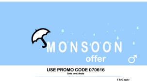 Leisure Hotels  Monsoon Promo with button