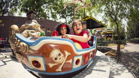 Kids Rides - Mini Venice at  Wonderla Amusement Park Bangalore
