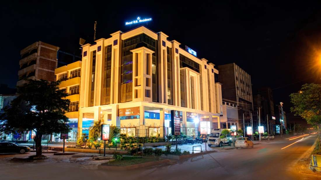 Exterior View of Hotel PR Residency Amritsar - Hotels in Amritsar