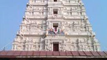 The Rangaji Temple Nidhivan Sarovar Portico Vrindavan places to visit in Vrindavan