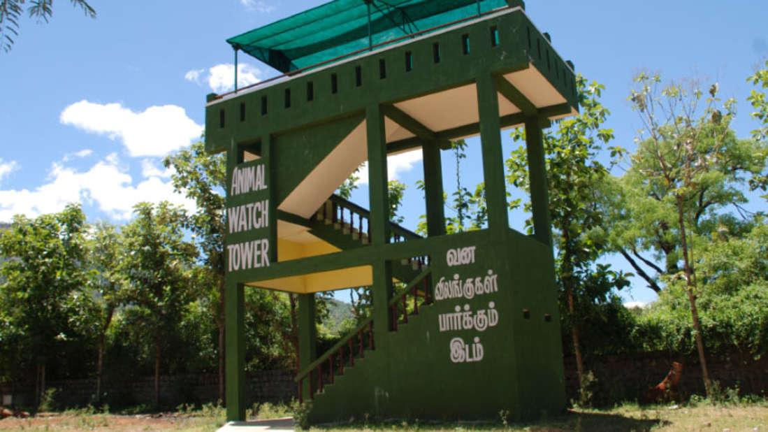 Black Thunder Water Theme Park - Animal Watch Tower