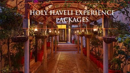 The Haveli Hari Ganga Hotel, Haridwar Haridwar Holy Haveli Experience banner