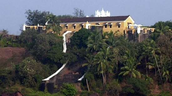 Terekhol Fort Rococco Ashvem Resort near Ashvem Beach in Goa