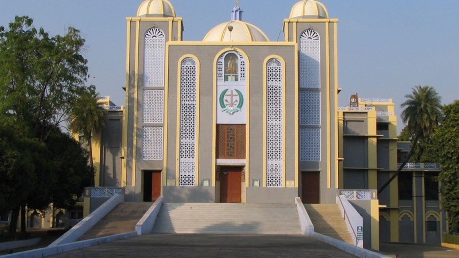 St. Judes Shrine near nataraj sarovar portico, hotel near jhansi railway station