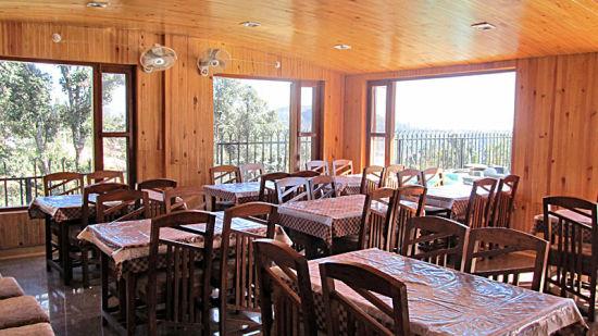 Ojaswi Resort Chaukori Chaukori Royale Restaurant 1 at Ojaswi Hotel and Resort in Chaukori