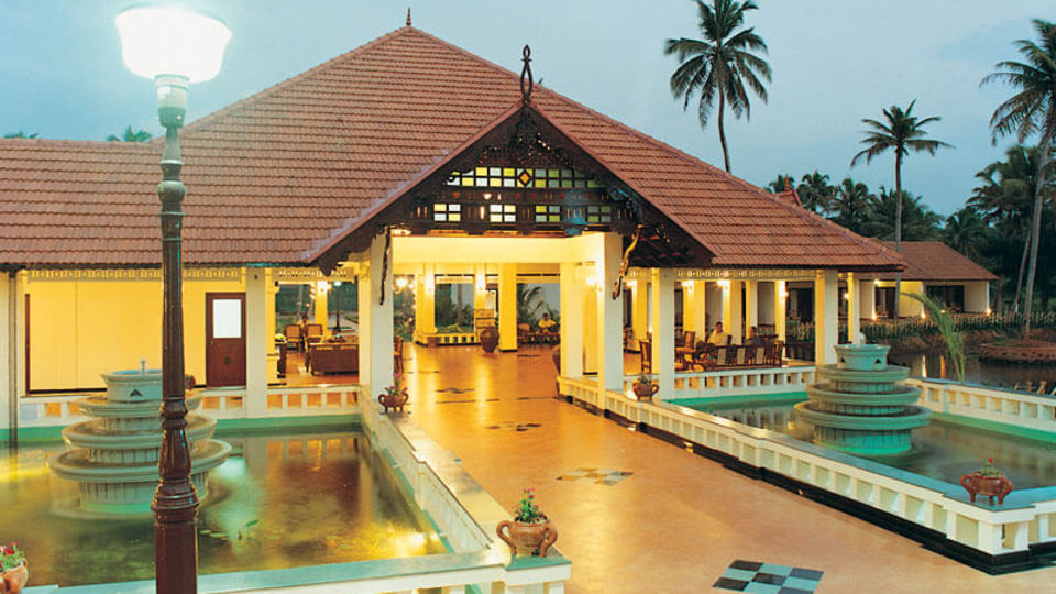 Facade of our resort in Kumarakom, Abad Whispering Palms, Kumarakom-16