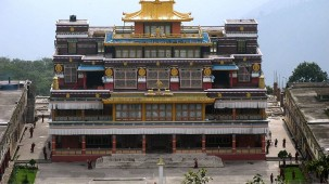 Rolang Monastery near Summit Hotels and Resorts Namchi