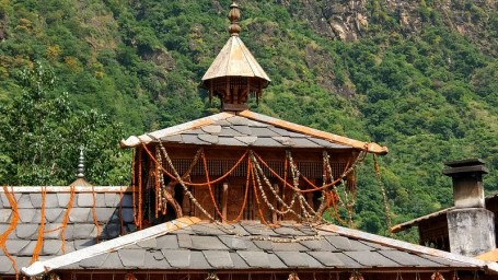 Mahasu Devta Temple near Summit Thisltle Villas Luxury Spa Resort Mashobra