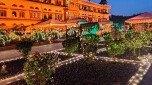 Decor - Gala Dinner at Umaid Lake Palace - Palki Patio