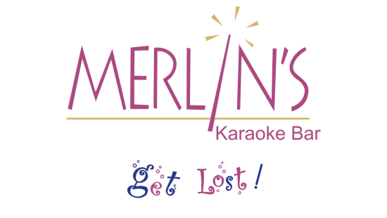 Logo of Merlins Karoke Bar at the orchid hotel mumbai vile parle - 5 star hotel near mumbai airport