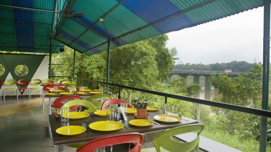Lotus Riverside Resort, Silvassa Silvassa Restaurant River View