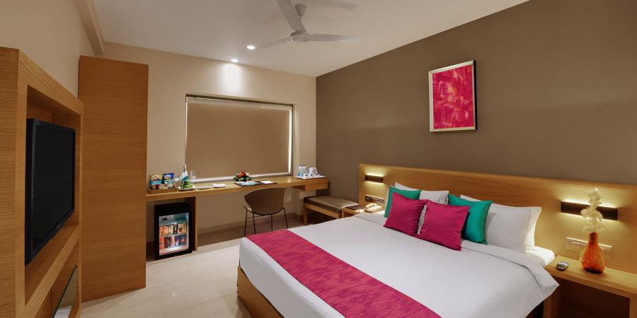 alt-text Executive Rooms at Suba Elite Vadodara Hotel rooms in Vadodara