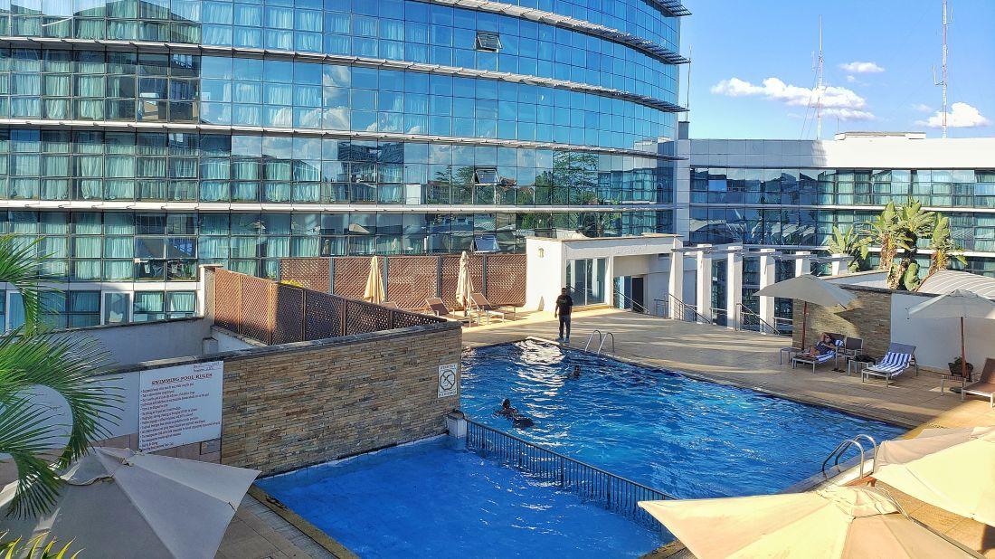 Swimming pool at Boma Nairobi, hotel in Nairobi 3