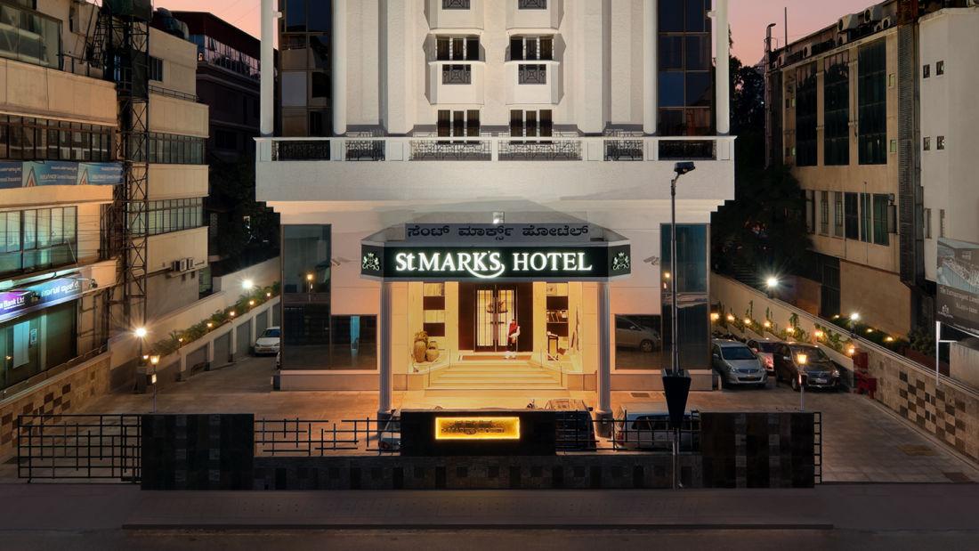 Facade 2, St Marks Hotel, Bangalore Hotel