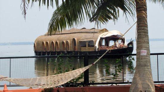 Boating Area at our resort in Kumarakom, Abad Whispering Palms, Kumarakom-8
