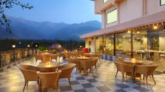 The Terrace at RS Sarovar Portico,  Palampur Hotels  3