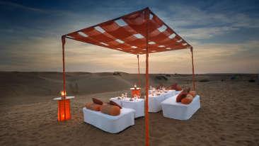 Dinner On The Dunes Tao Experience Jaisamler