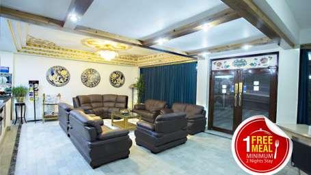 Central Hill Resort, Gangtok Gangtok hill free meal 8