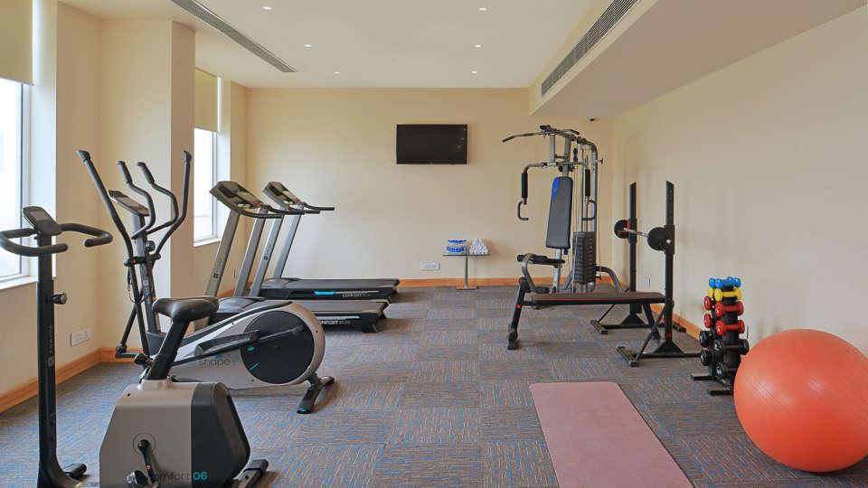 Gym at at Golden Sarovar Portico Amritsar