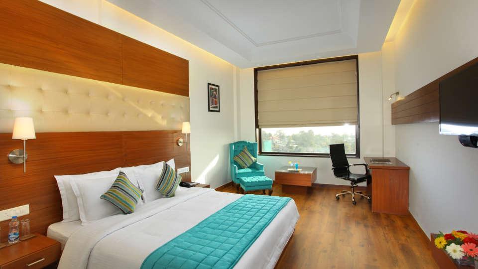 Superior Room at RS Sarovar Portico, Palampur Hotels 3