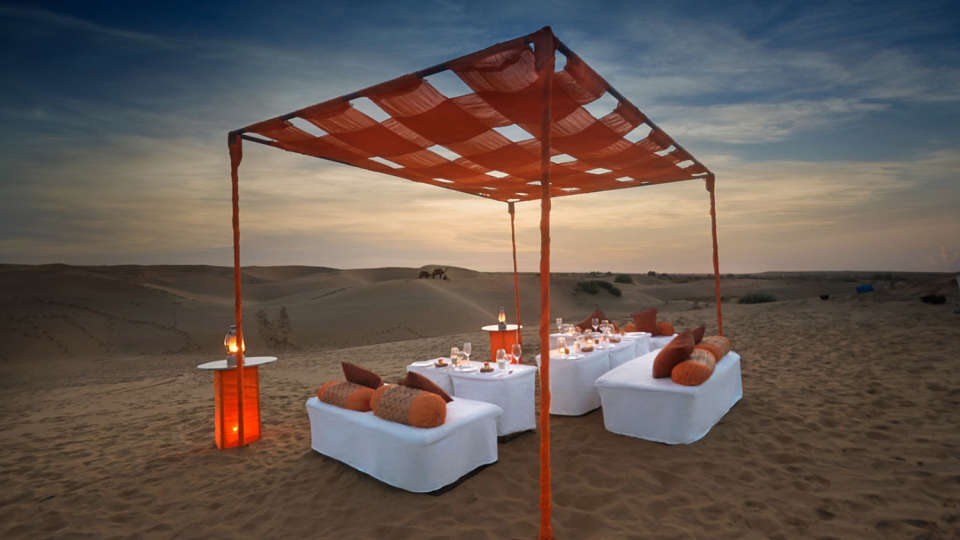 Dinner On The Dunes Tao Experience Jaisamler