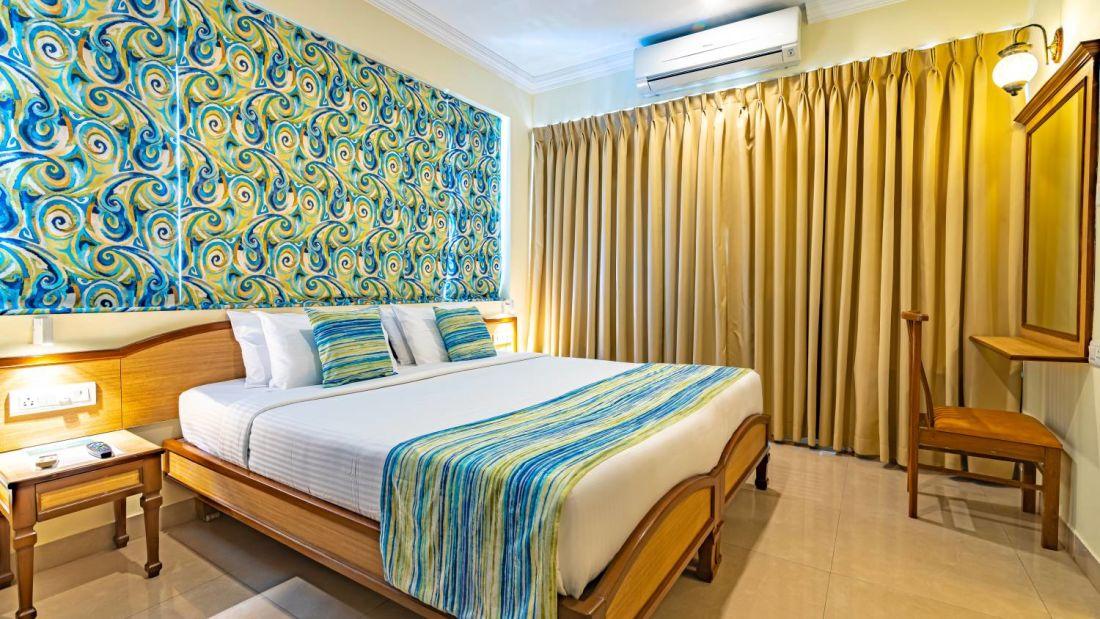 Best Rooms at Calangute Beach  North Goa  Best Rooms in Calangute North Goa  Suites in North Goa  CalanguteQuality Inn OCean Palms-23
