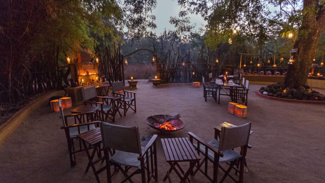 Gol Ghar restaurant in pachmarhi-Reni Pani Jungle Lodge in Satpura3