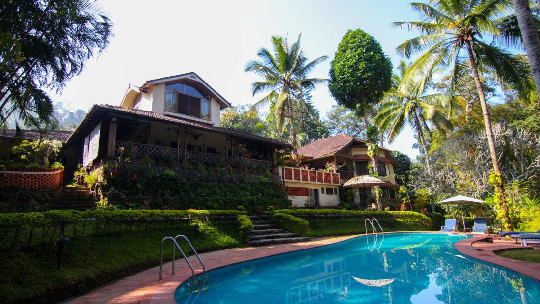 Swimming Pool Tranquil Resort Wayanad f085ym