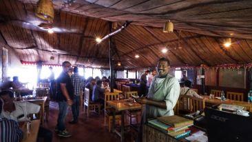 Cafe in Konark  Lotus Eco Beach Resort  Hotels in Konark