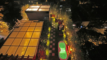 rooftop view of Theory9 Premium Service Apartments Bandra,  romantic stay in mumbai 1