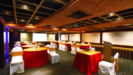 Oleander Conference Hall at Iris Hotel on Brigade Road Bangalore hrgzce