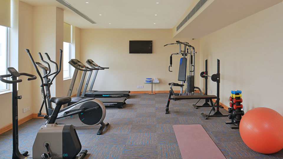 Gym at at Golden Sarovar Portico Amritsar