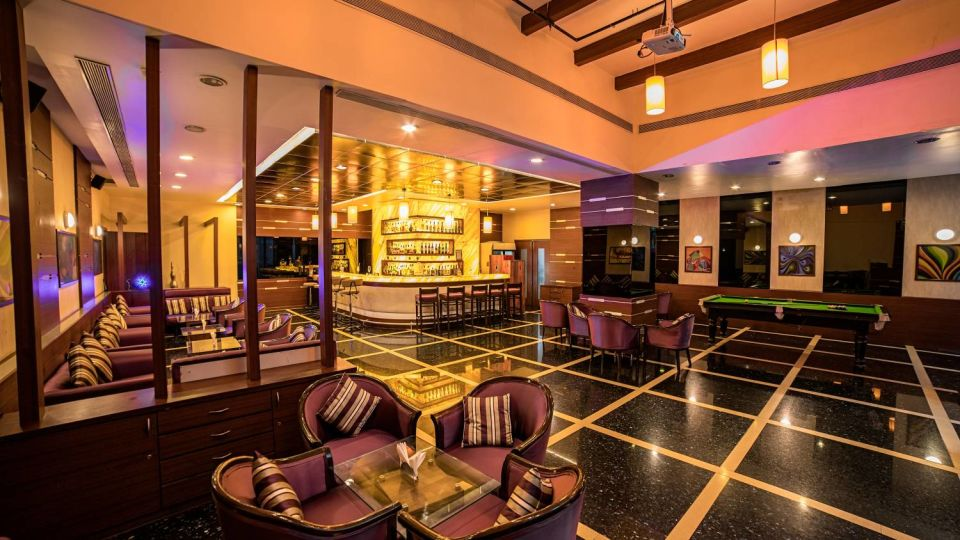 Merlin - The Bar at The Orchid Hotel Pune  Bars in Pune  Best Pubs in Pune  Luxury Hotel in Pune