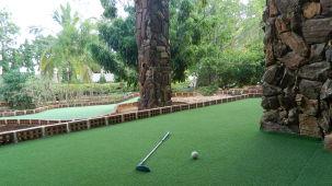 Fantasy Golf Resort Bangalore Golf Green Water Cascade at Fantasy Golf Resort Bangalore
