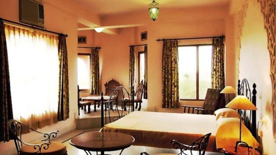 Royal Suite of  Umaid Lake Palace Hotel Kalakho Dausa Rajasthan