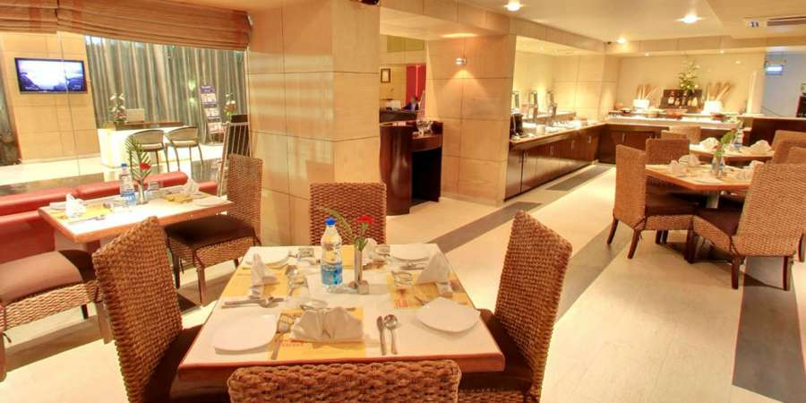 alt-text Iris Hotel Bangalore 70 Brigade Restaurant at Iris Hotel on Brigade Road Bangalore