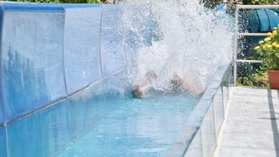 things to do in Bangalore today attractions in Bangalore water slide in Bangalore water park in Bangalore vDrop Loop 3