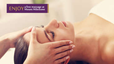Mount Milestone Free Spa Session