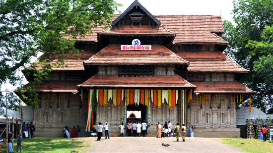 Sree Vadakumanathan Temple near Sree Gokulam Residency