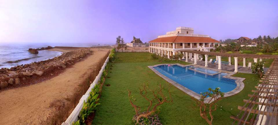 Facade, The Bungalow on the Beach Tranquebar, Hotels In Tranquebar 223