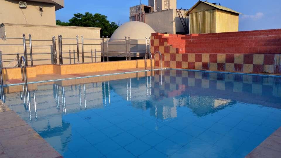 Hotel Trisha Bhoomi Residency, Agra Agra Swimming Pool Hotel Trisha Bhoomi Residency Agra