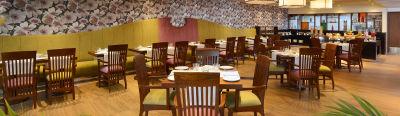 Patio - restaurant The Muse Sarovar Portico Kapashera New Delhi