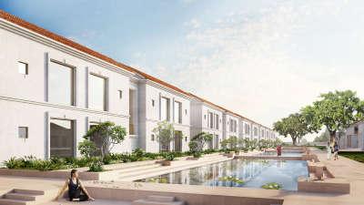 Residential Block, Marasa Sarovar Premiere Bodhgaya, Hotels in Bodhgaya