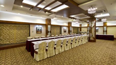 Interior of Gaur Banquet Hall in Patna