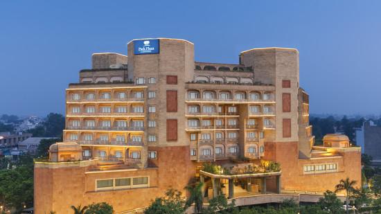 Facade of Park Plaza Ludhiana 5 Star Hotel in Ludhiana