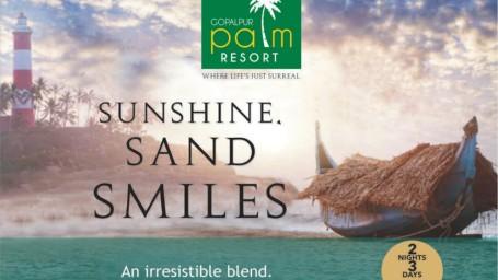 Gopalpur Palm Resort 2 Nights and 3 Days Package