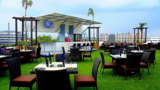 Skyline Roof Garden, Gokulam Park Sabari, Rooftop Restaurant in Chennai